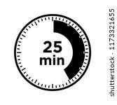 set of timers   twenty five... | Shutterstock .eps vector #1173321655