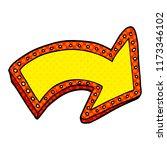 cartoon doodle lit up sign | Shutterstock .eps vector #1173346102