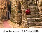 old buildings in the... | Shutterstock . vector #1173368008