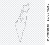 blank map  israel. high quality ...
