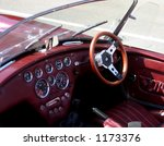 Classic Car Interior  With...