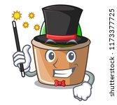 magician mascot star cactus...   Shutterstock .eps vector #1173377725