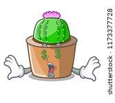 money eye mascot star cactus...   Shutterstock .eps vector #1173377728