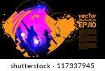 concert. vector illustration | Shutterstock .eps vector #117337945