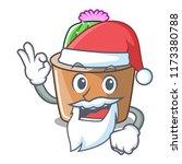 santa mascot star cactus...   Shutterstock .eps vector #1173380788