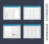 website wireframe layouts ui...
