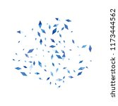confetti of two colored rhombs... | Shutterstock .eps vector #1173444562