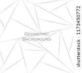 geometrical ornament of multi... | Shutterstock .eps vector #1173450772