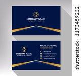 business model name card luxury ... | Shutterstock .eps vector #1173459232
