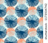 abstract ikat and boho style...   Shutterstock .eps vector #1173534742