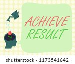 conceptual hand writing showing ... | Shutterstock . vector #1173541642