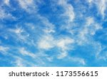 white clouds in blue sky | Shutterstock . vector #1173556615