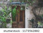 beatiful old doors of jaffa ... | Shutterstock . vector #1173562882