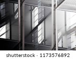 modern architecture collage... | Shutterstock . vector #1173576892