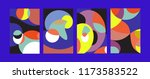 vector abstract colorful...   Shutterstock .eps vector #1173583522