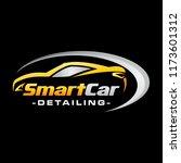car detailing logo inspiration  ... | Shutterstock .eps vector #1173601312