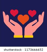love vector icon | Shutterstock .eps vector #1173666652