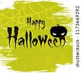 creative text of happy... | Shutterstock .eps vector #1173669292