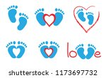 baby coming soon baby gender... | Shutterstock .eps vector #1173697732