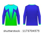 uniforms for competitions  team ... | Shutterstock .eps vector #1173704575