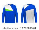 uniforms for competitions  team ... | Shutterstock .eps vector #1173704578