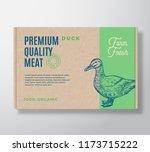 premium quality duck vector... | Shutterstock .eps vector #1173715222