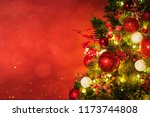 christmas and new year holidays ... | Shutterstock . vector #1173744808