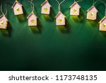 christmas holiday background | Shutterstock . vector #1173748135
