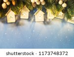 christmas holiday background | Shutterstock . vector #1173748372