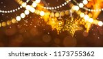 christmas light. christmas and... | Shutterstock . vector #1173755362