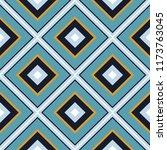 tiled rhombus geometric vector... | Shutterstock .eps vector #1173763045