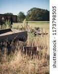 old neglected trailer in...   Shutterstock . vector #1173798505