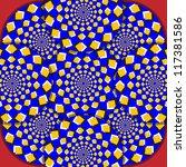 magic mosaic      motion... | Shutterstock .eps vector #117381586