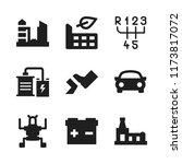 automotive icon. 9 automotive...   Shutterstock .eps vector #1173817072