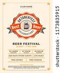 oktoberfest beer festival... | Shutterstock .eps vector #1173835915