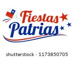 fiestas patrias   independence... | Shutterstock .eps vector #1173850705
