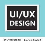 ui ux design concept  vector...