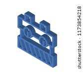 toolbox isometric left top view ... | Shutterstock .eps vector #1173854218