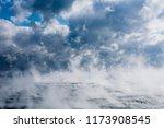 Evaporation At Sea. Clouds At...