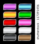 set of colorful asymmetric... | Shutterstock .eps vector #117391456