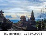 pura besakih temple complex ... | Shutterstock . vector #1173919075
