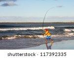 Fishing On The Beach In Durban  ...
