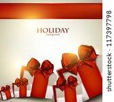 elegant background with... | Shutterstock .eps vector #117397798