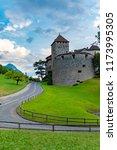 vaduz  liechtenstein  august... | Shutterstock . vector #1173995305