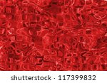 red glass pattern texture... | Shutterstock . vector #117399832