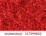 red glass pattern texture... | Shutterstock . vector #117399832