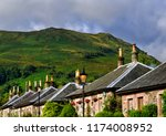 luss is a village in argyll  ... | Shutterstock . vector #1174008952