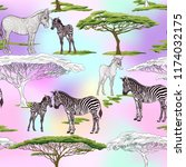 seamless pattern  background ... | Shutterstock .eps vector #1174032175