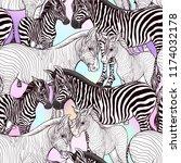 seamless pattern  background ... | Shutterstock .eps vector #1174032178