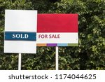 Small photo of Blank for sale signs